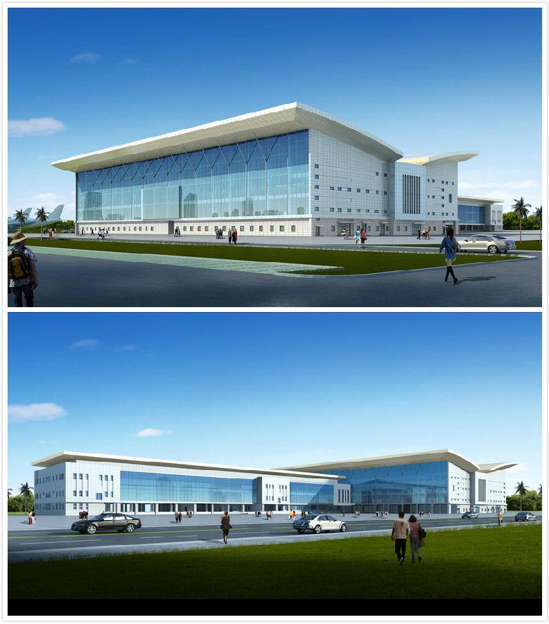 拉各斯机场_尼日利亚阿布贾机场和拉各斯机场航站楼效果图
