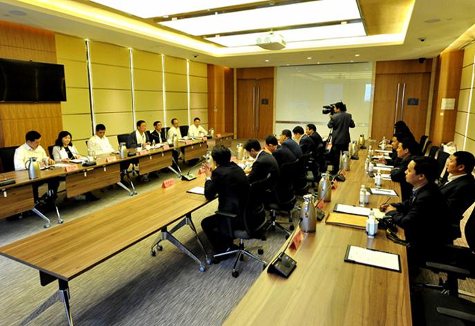 青海省海南州同德县代表团来宝武集团交流援建工作